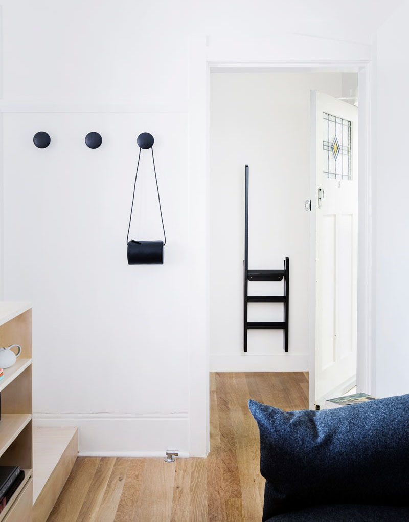 a small sydney apartment features creative storage