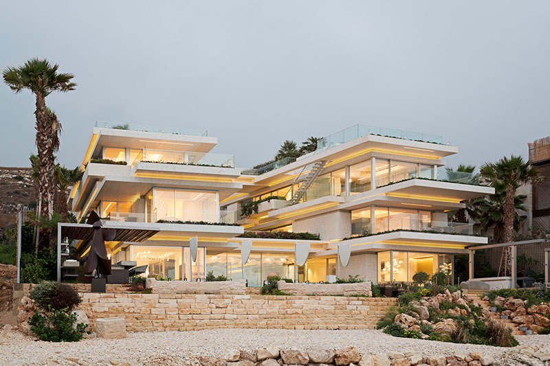 Uninterrupted Sea Views from Villa Kali, A Modern Home in Lebanon