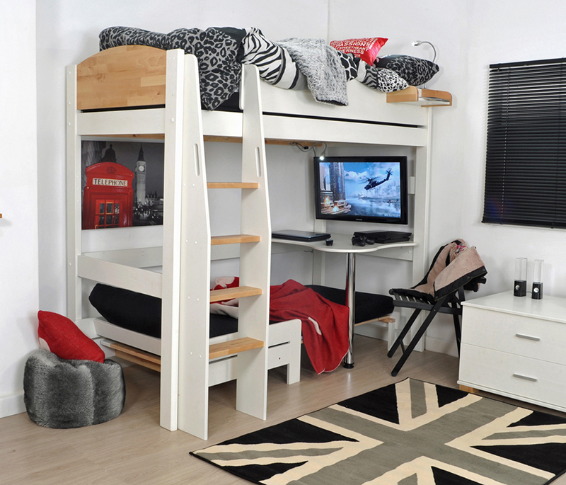 20 Loft Beds With Desk For Boys Bedrooms Home Design Lover