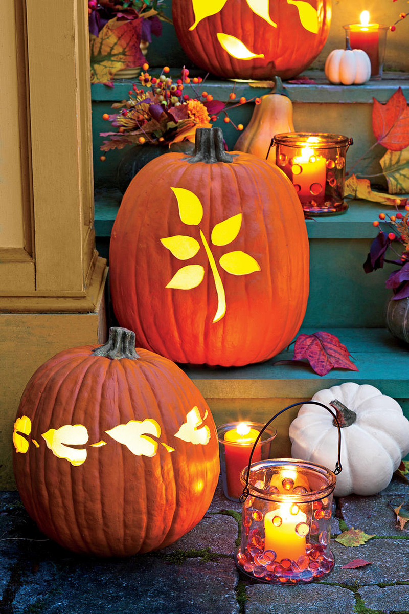 20 Easy Diy Carved Pumpkins For Your Halloween Decor