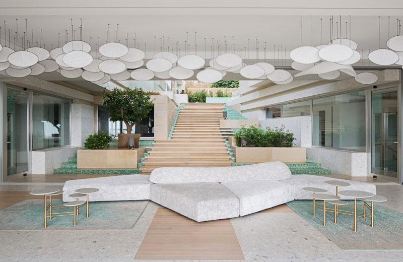 Modern Furniture Lebanon uninterrupted sea views from villa kali, a modern home in lebanon