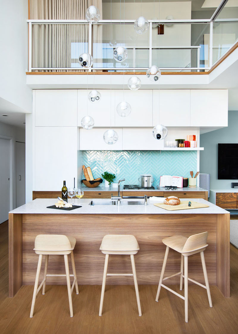 Modern Kitchen Loft Interior Design: Relaxing Contemporary Interior Of Beatty Loft In Vancouver