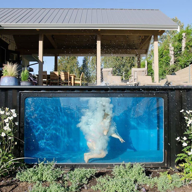 Shipping Container Swimming Pool: An Innovative Pool Design for Your Home