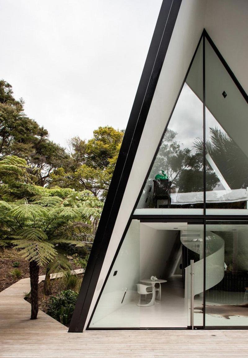 Tent House interior