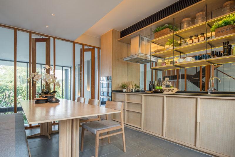 Townhouse Thailand kitchen
