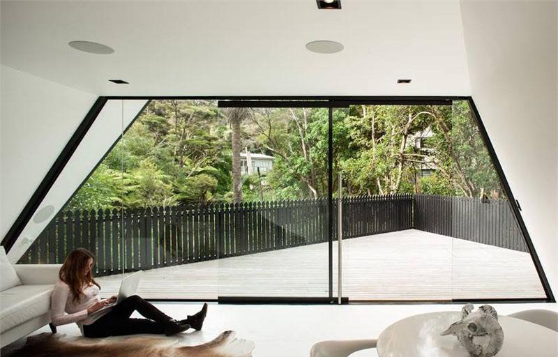 Tent House window