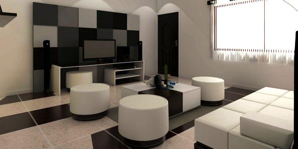 Use simple flooring