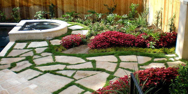 Unique patios and walkways