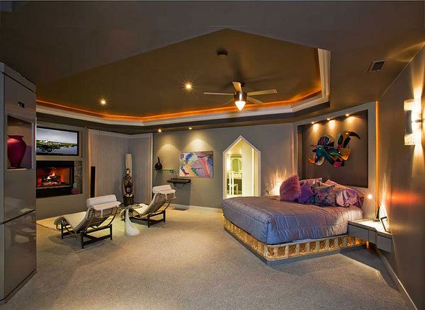 15 elegant masters bedroom designs to amaze you home design lover - Design my dream bedroom ...