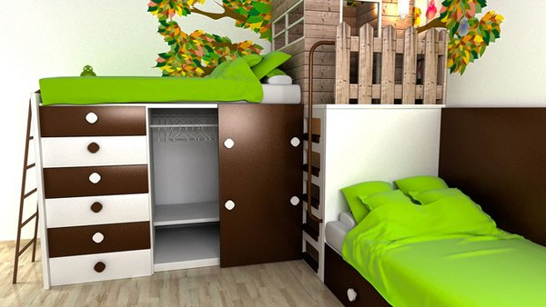 Bedroom Design Kid