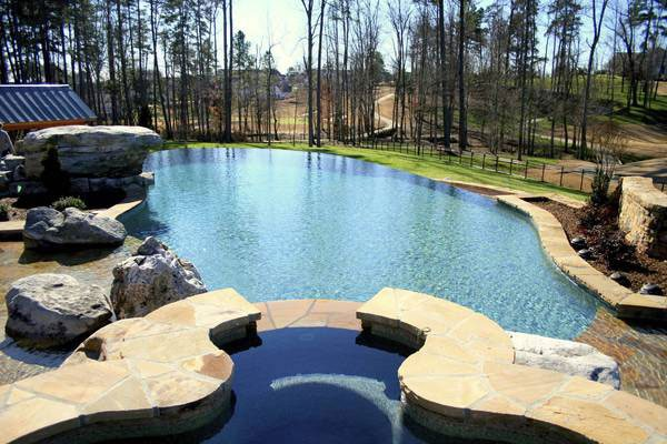 Soothing Infinity Swimming Pool Sample Design