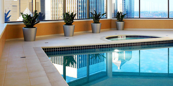 Place pool accessories