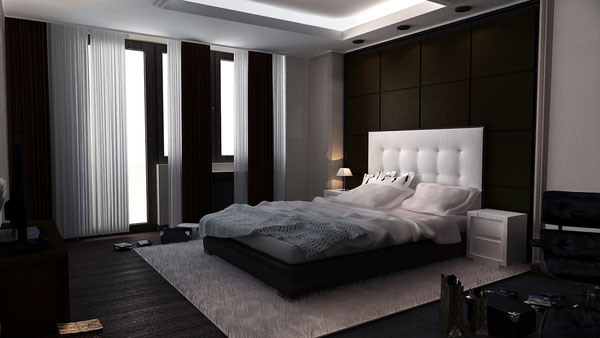 Classy Bedroom concept