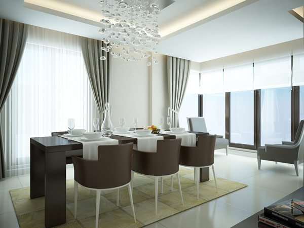 A Collection of 20 Well-Designed Dining Rooms | Home Design Lover