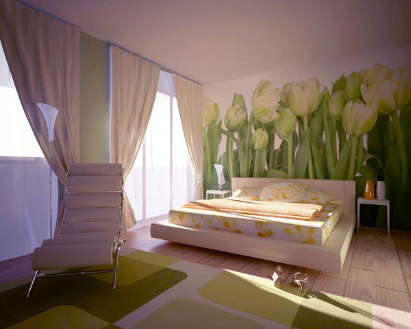 Awesome Feminine Bedroom Art. The Choice Of Wall Decorations ...
