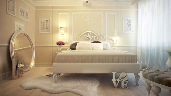 Romantic Bed Design