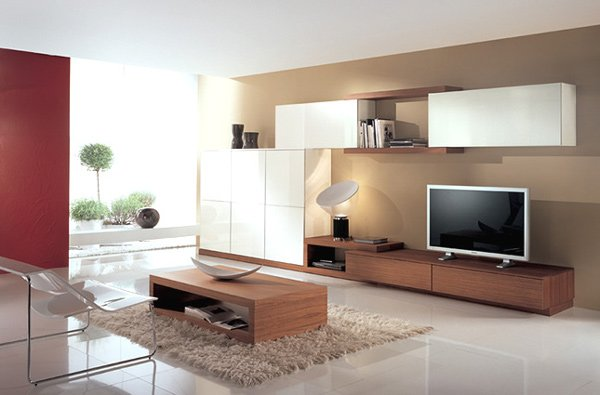 21 stunning minimalist modern living room designs for a for Minimalist living room design