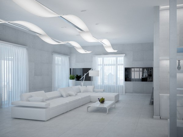 15 fascinating living room designs to inspire you home for Cool modern living rooms
