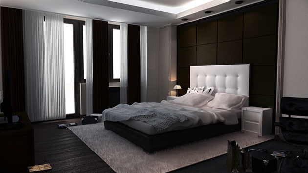 16 relaxing bedroom designs for your comfort home design for Bedroom designs pictures