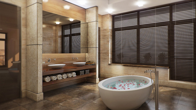16 refreshing bathroom designs home design lover - Design Of Toilet Room