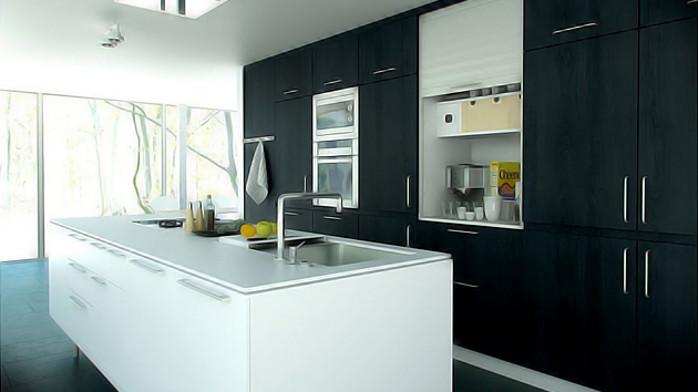 Modern Ideas For Small Kitchens