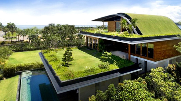 Roof Design Ideas: Ten Insights For Designing Eco-Friendly Green Homes