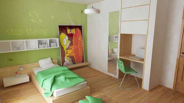 20 vibrant and lively kids bedroom designs home design lover for Interior designs for kids
