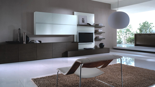 21 stunning minimalist modern living room designs for a for Modern living room design ideas 2015