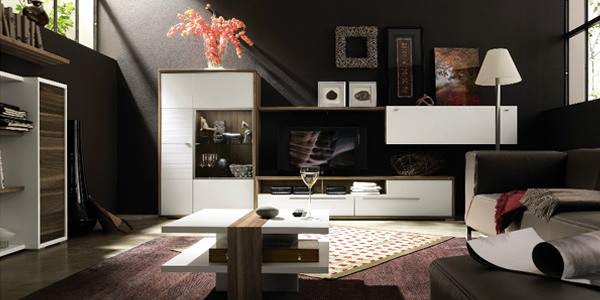 Home organization tips to de clutter your living room for Living room organization furniture