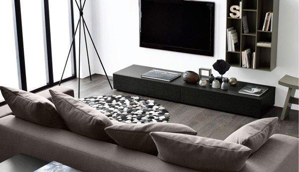 16 elegant contemporary living rooms home design lover. Black Bedroom Furniture Sets. Home Design Ideas