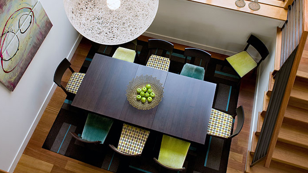 contemporary dining room image