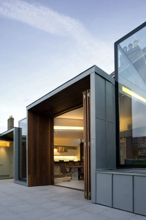 Windhover 3 a victorian contemporary house extension for Contemporary house facades