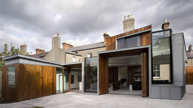 Windhover 3 A Victorian Contemporary House Extension  : windhover house from homedesignlover.com size 630 x 354 jpeg 138kB