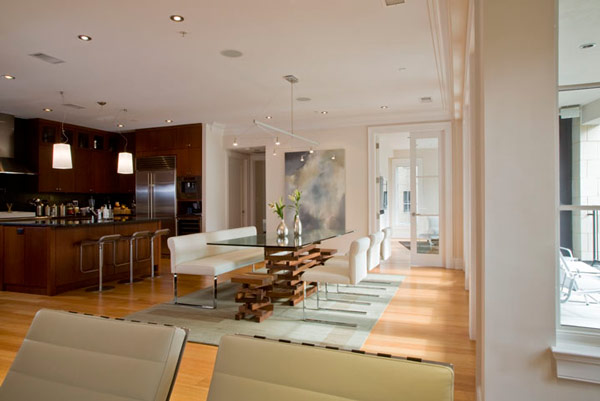 Very Nice Modern Dining Room Design