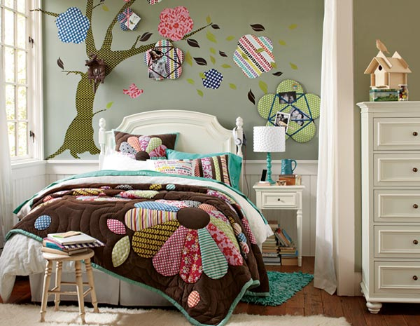 15 cool and well expressed teen bedroom collection home for Funky teenage girl bedroom ideas