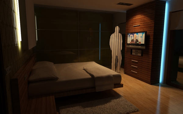 Just So Cool man Bedroom