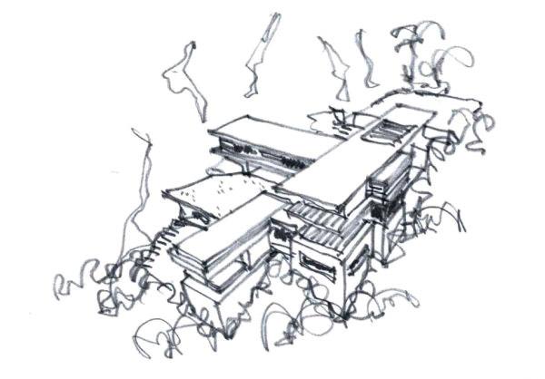 Villa Amanzi Sketch