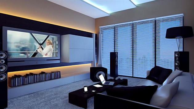 How to Set-Up a Fun Filled Entertainment Room | Home Design Lover