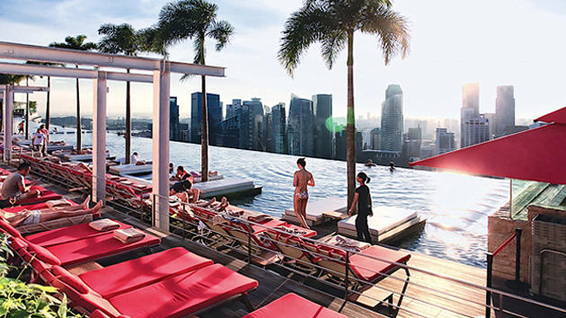 The Marina Bay Sands Sky Park Infinity Pool That Awed The