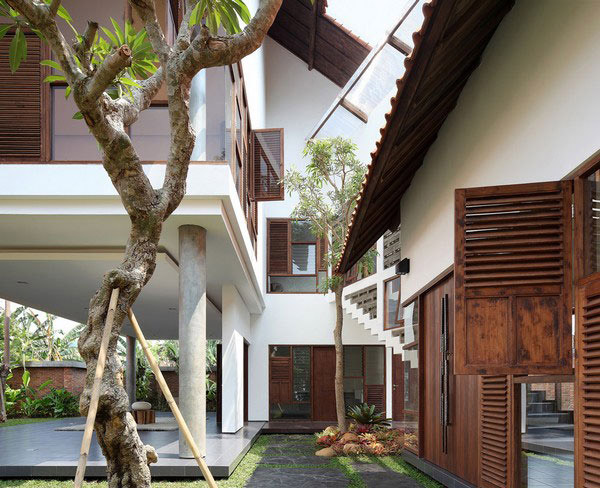 Tropical home design