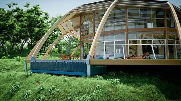The pearl an iconic eco friendly habitat home design lover for The design home