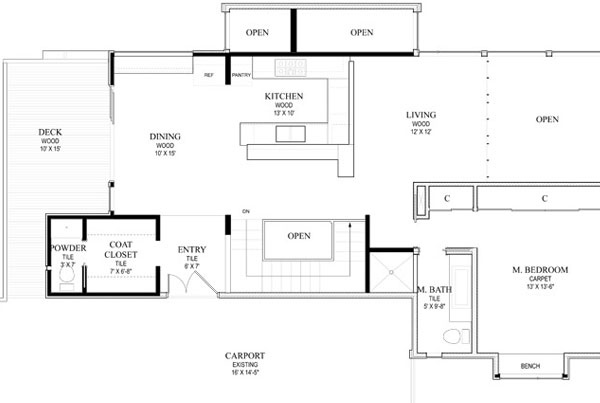 Orchids House Sketch Plan