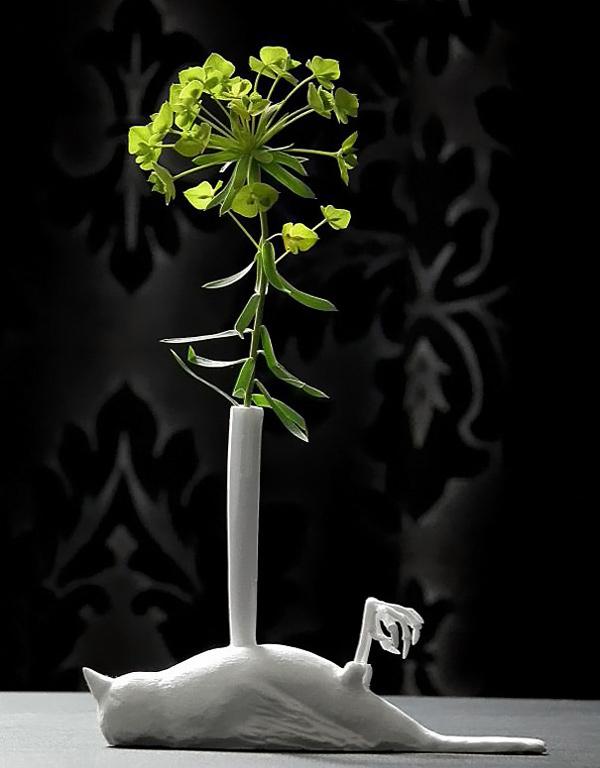 White Vase design