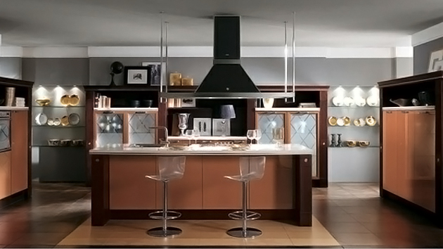 Trendy kitchen designs from italy 39 s scavolini home for Trendy kitchen designs