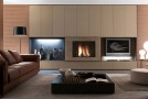 wall units and bookcases in italy