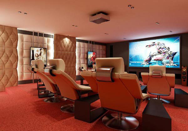 12 truly entertaining home theater designs home design lover for Home theatre ideas design