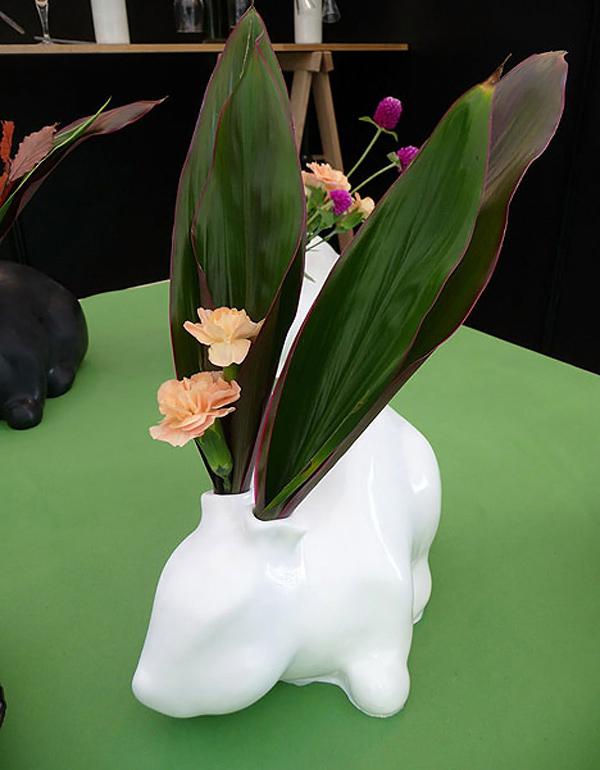 Rabbit Vase