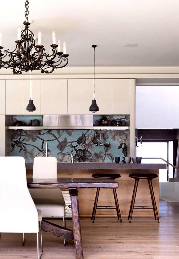 kitchen mosaic design