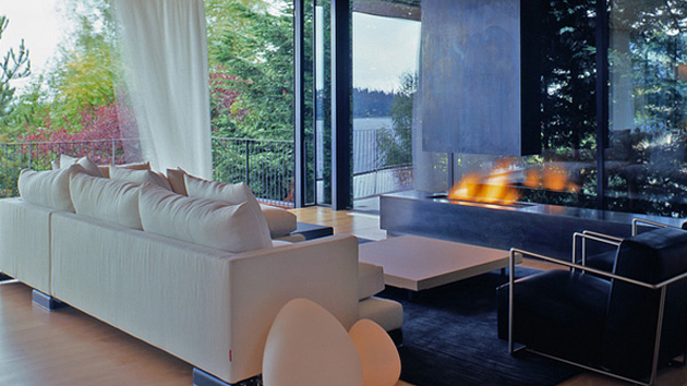 courtyard house in mercer island washington