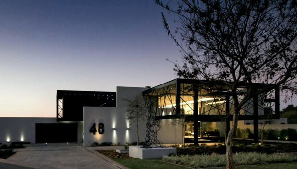 The iconic ber house in midrand south africa home for Landscape architects south africa